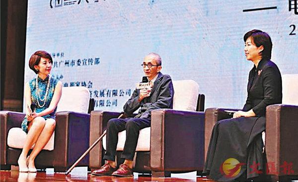 ■導演陳傳興期待用詩詞手法實踐中國式審美的電影美學。   胡若璋  攝