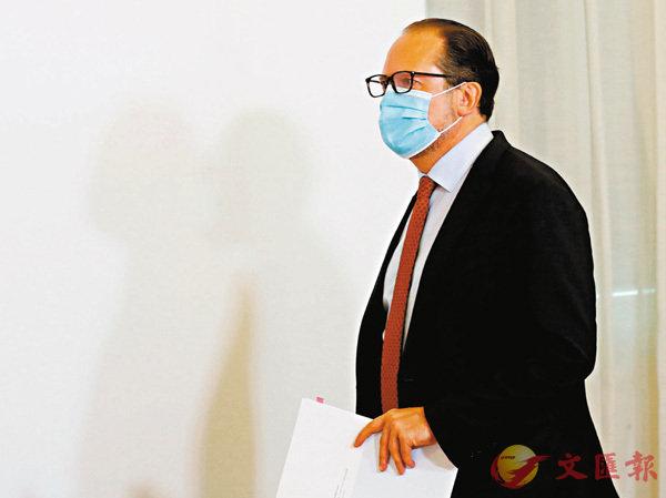 ■沙倫貝格確診新冠肺炎。 路透社