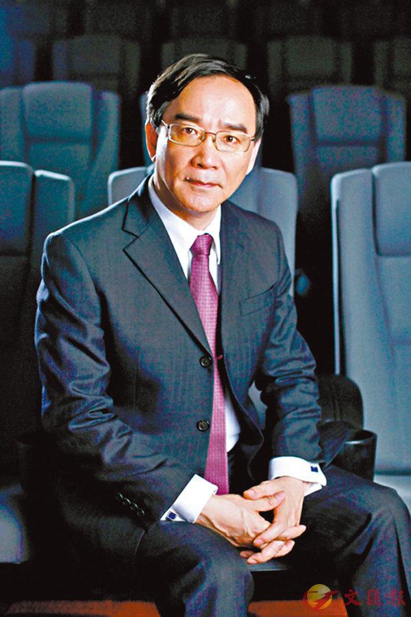 ■ 任仲倫表示中國電影應提高全球影響力。