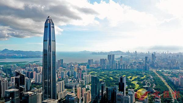 ■ 深圳首批授權事項清單昨日正式公布。圖為深圳平安金融中心。 資料圖片