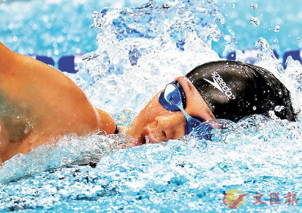 ■何詩蓓打破100米及200米兩項自由泳亞洲紀錄。     資料圖片