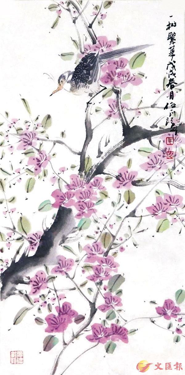 ■任正江作品《一樹繁華》
