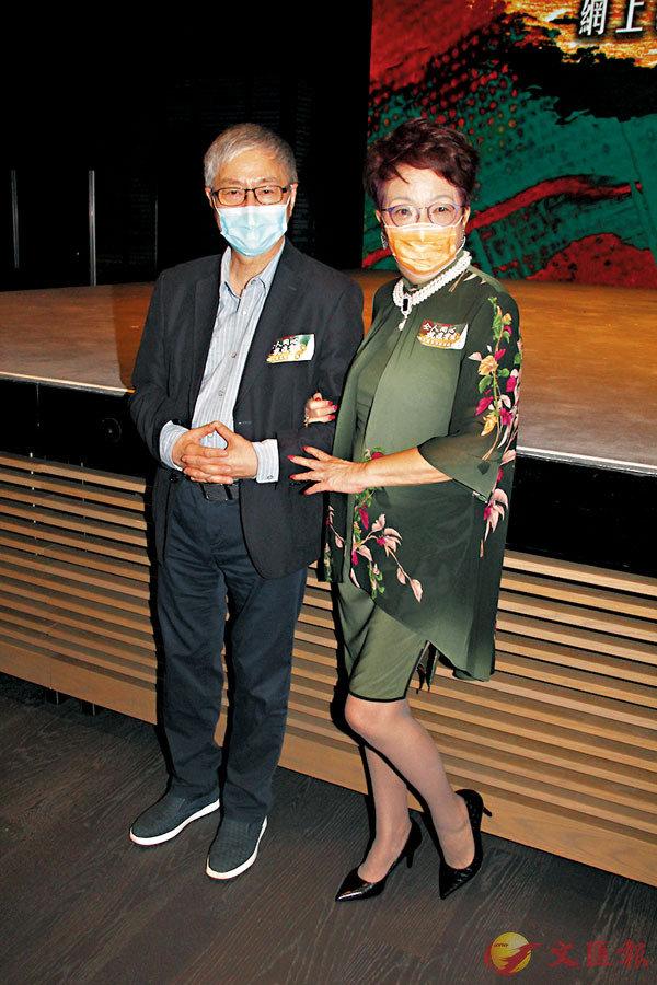 ■鄧拱璧與阮兆輝表示籌得善款將不扣除開支,全數用於支援香港粵劇界同業。