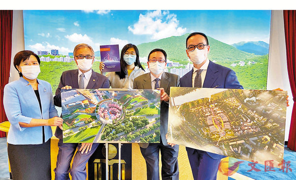 ■科大昨日公布廣州校園的最新進展。 香港文匯報記者  攝
