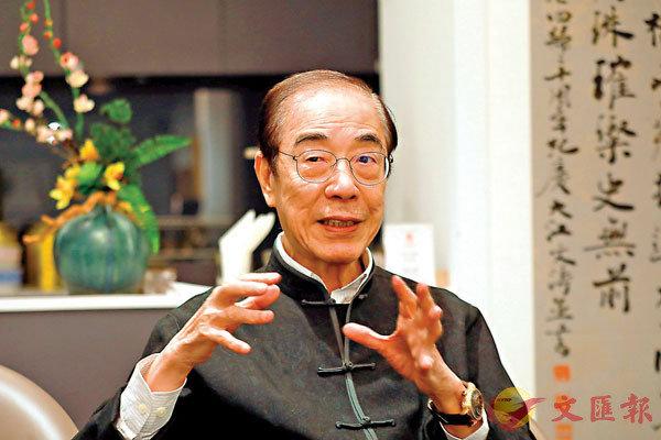 ■楊孫西談起藝術時總表現得興奮雀躍。