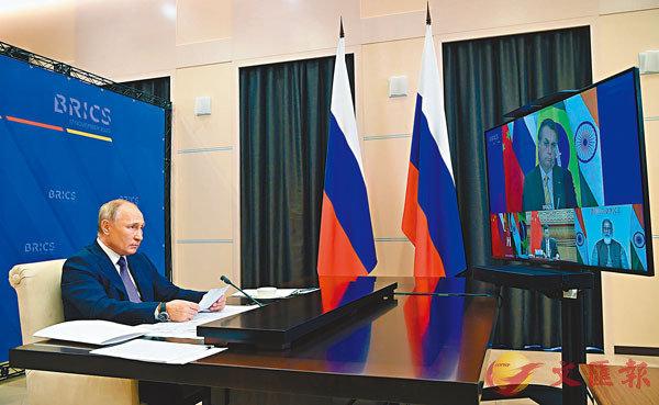 ■俄羅斯總統普京主持會晤。 美聯社