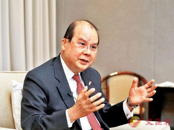 ■政務司司長張建宗接受香港文匯報專訪。香港文匯報記者  攝
