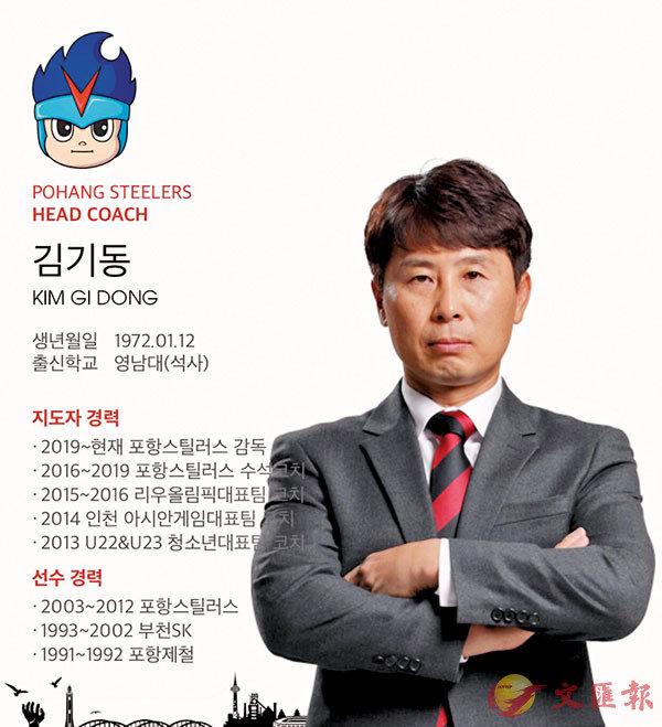 ■韓職最佳教練金基東或赴中超,成為崔康熙第二。