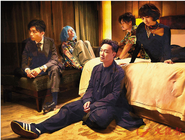 ■ Eason新歌MV找來談善言、陳漢娜、盧鎮業、黃溢濠擔任主角。