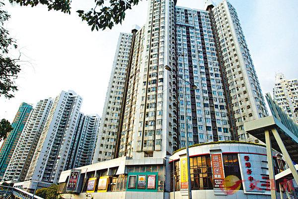■香港仔中心低層438方呎單位最新估值較8月跌5.5%。 資料圖片