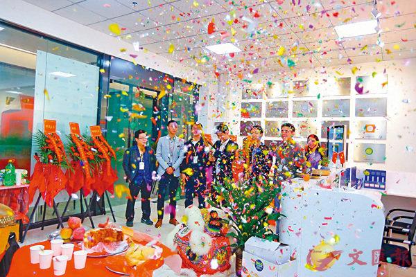 ■港青創辦的「智慧青年」孵化器在廣州黃埔區正式落地。 受訪者供圖
