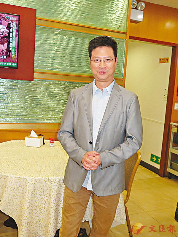 �李錦聯在深水�鶧牉g營飲食生意,坦言有受疫情影響。