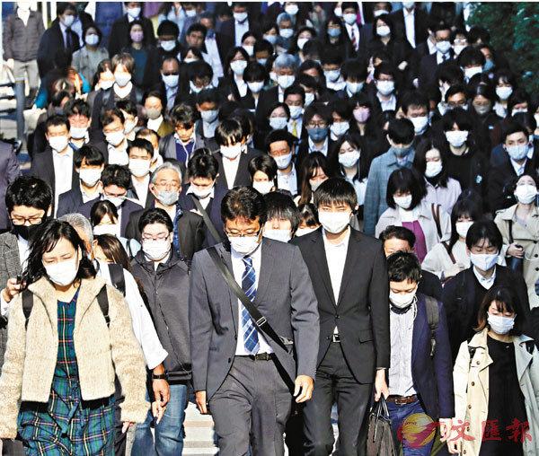 ■在疫情衝擊下,日本自殺率有上升趨勢。 美聯社