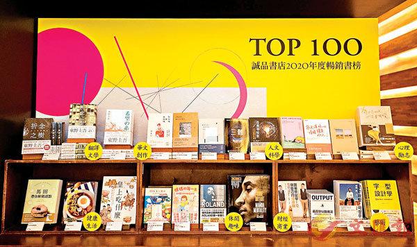 ■誠品書店日前公布2020閱讀報告及台灣、香港、蘇州暢銷榜單。張愛玲登三地年度十大作家。