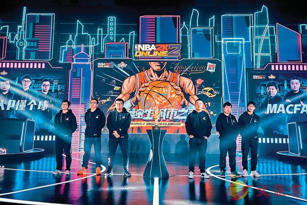 ■NBA2KOL2全國聯賽Q3賽季昨進行最後總決賽。香港文匯報記者夏微  攝