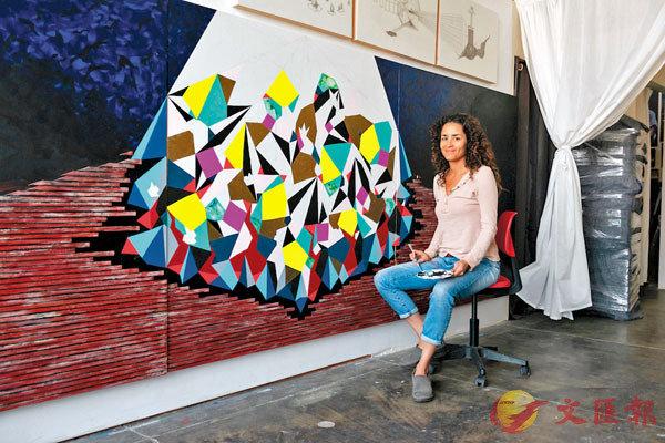 ●多媒體藝術家艾迪亞·米勒。