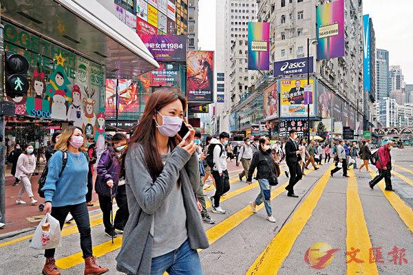 ●香港美國商會最新調查報告指,四成受訪者料未來12個月本港商業環境持續不穩或繼續轉差。 資料圖片