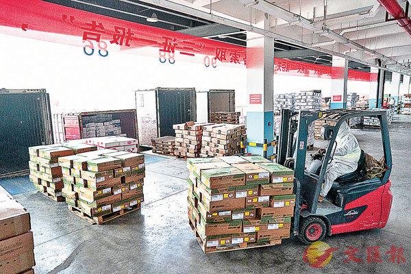 ● 運送貨物時需要大量木卡板。 資料圖片
