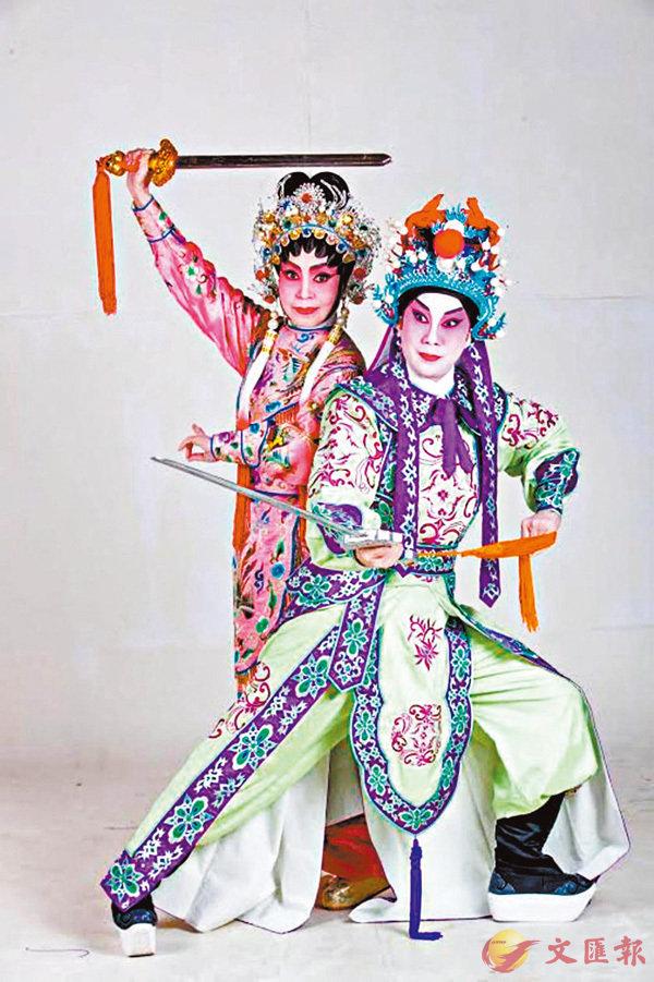 ●藝青雲與王超群今次合作演新劇《戰海奇緣》。