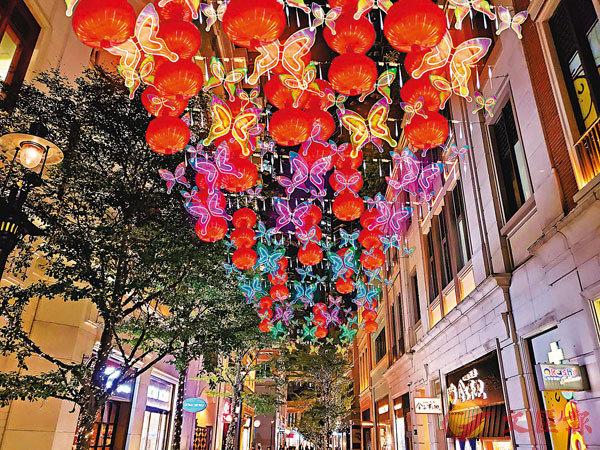 ●利東街將推出「希望之蝶.如意燈籠」。