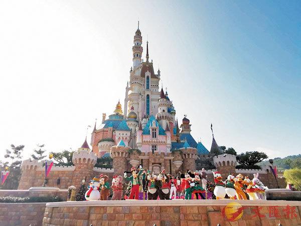 ●香港迪士尼樂園奇妙城堡