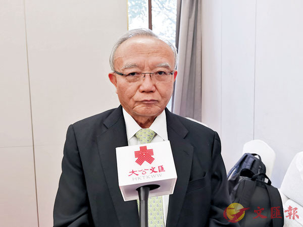 ●劉兆佳。 香港文匯報記者毛麗娟  攝