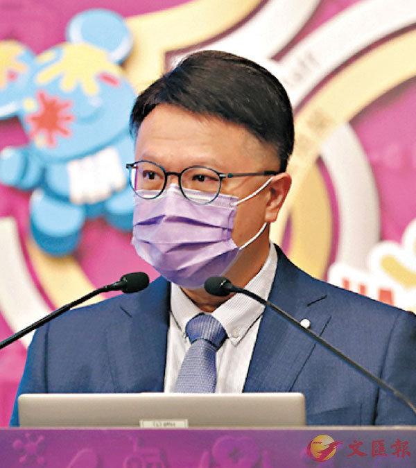 ● 政府專家顧問許樹昌。香港文匯報記者 攝
