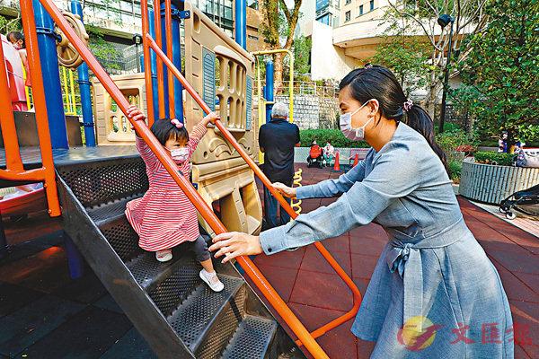 ● 疫情令梁思敏有機會親眼見證女兒成長。香港文匯報記者 攝