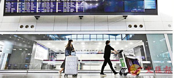 ●台灣疫情升溫,入境香港須在指定酒店強檢兩周。資料圖片
