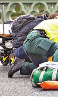 刀襲車撞  英國會遭恐襲