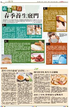 衣食住行 春季养生窍门 (图)-香港文汇网